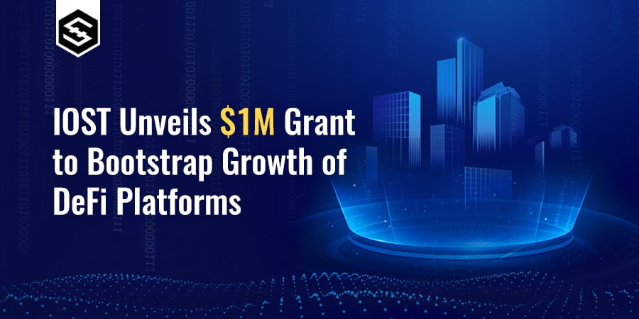 IOST Unveils 1 Million Dollar Grant to Bootstrap Growth of DeFi Projects, Focuses on OracleDeFi