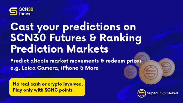 SuperCryptoNews Launches Curated Altcoins Index-Based Futures & Prediction Markets