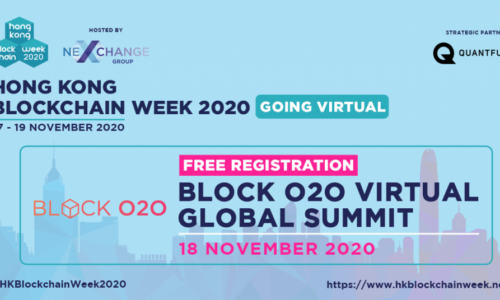 Hong Kong Blockchain Week 2020 Goes Virtual to Feature International Leaders of Finance and Tech