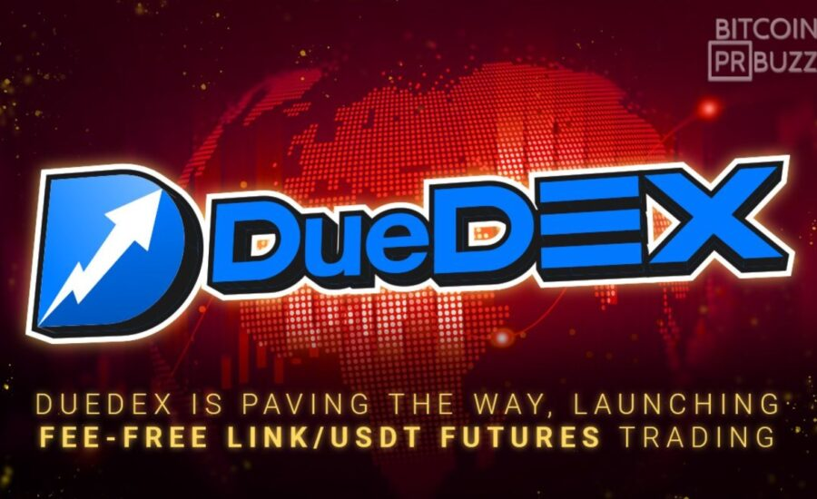 DueDEX is Paving the Way, Launching Fee-Free LINK/USDT Futures Trading
