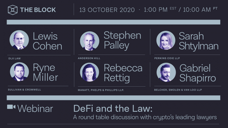 The Block Presents: DeFi and the Law