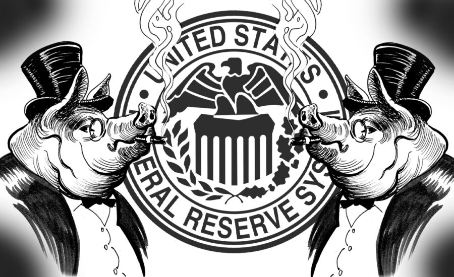 Federal Reserve Staff Sluiced Wall Street Bankers With Trillions From the Comfort of Their Mansions