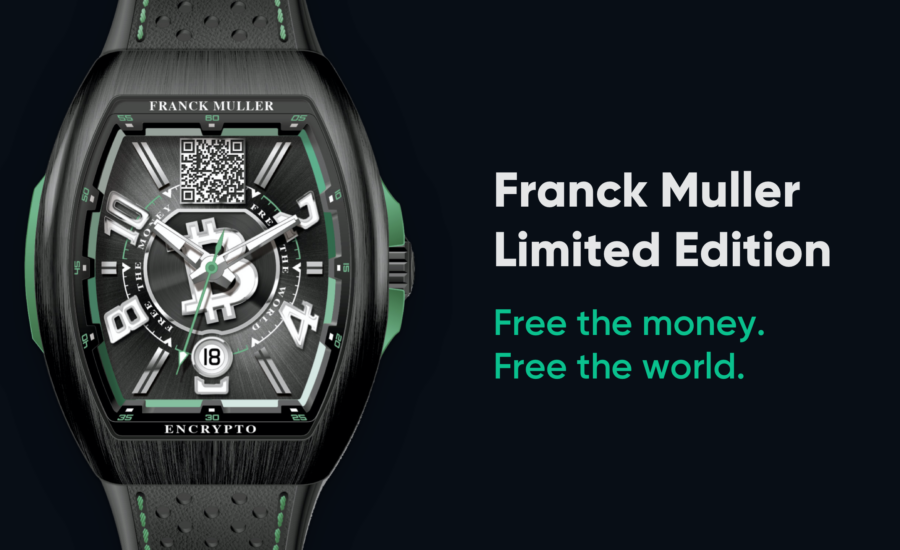 Bitcoin.com Announces Partnership With Luxury Watchmaker Franck Muller