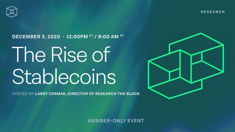 The Block Research Presents: The Rise of Stablecoins