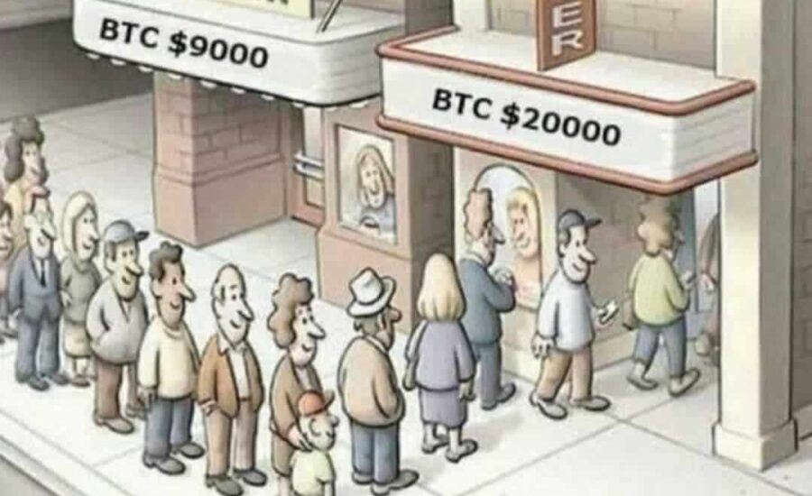 Why The Majority Will Rush To Buy Bitcoin At Its ATH, And Not When It's Low?