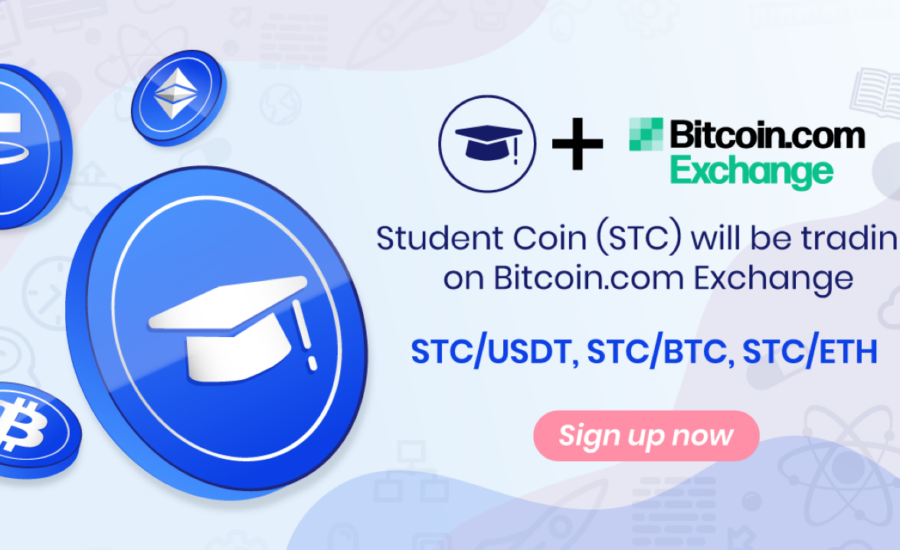 Student Coin (STC) Token Is Now Listed on Bitcoin.com Exchange