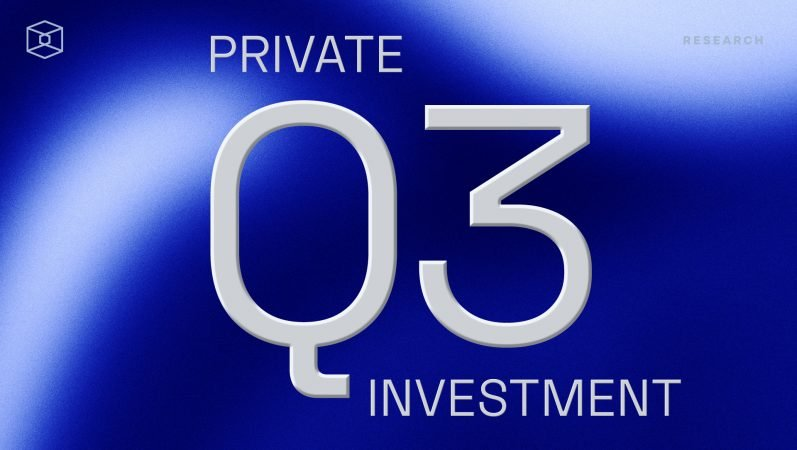 Overview of Q3′ 21 private funding of crypto companies