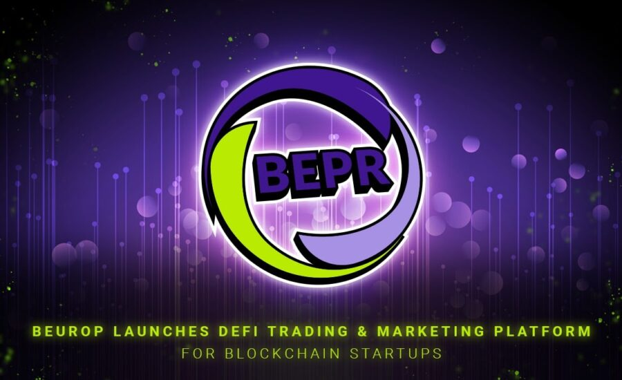 BEUROP Launches DeFi Trading and Marketing Platform for Blockchain Startups