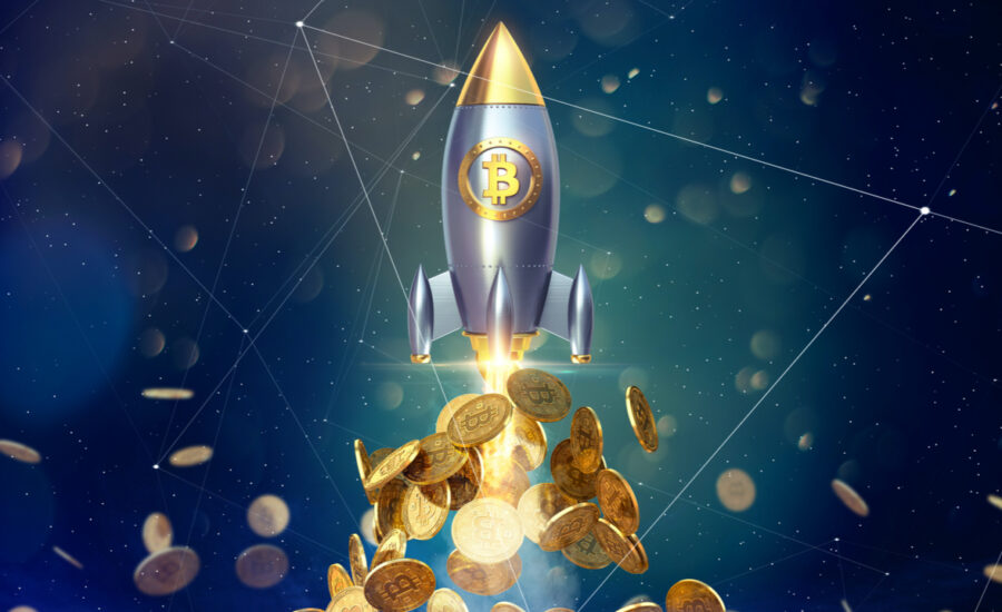 Bitcoin Smashes Through All-Time High Surpassing $66,000 per Unit